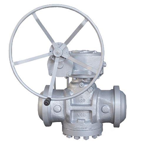 Válvula de tapón lubricada con equilibrio de presión